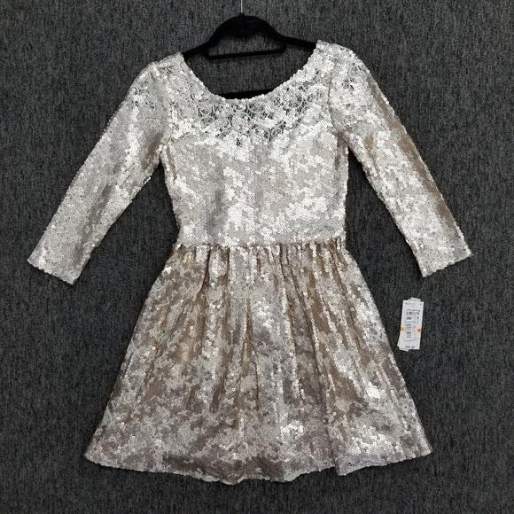 Gianni Bini Dresses & Skirts - GB Gianni Bini 3/4 Sequin Dress, Size Small NWT